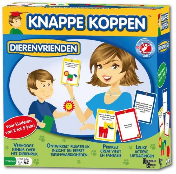 University Games Knappe Koppen: dierenvrienden