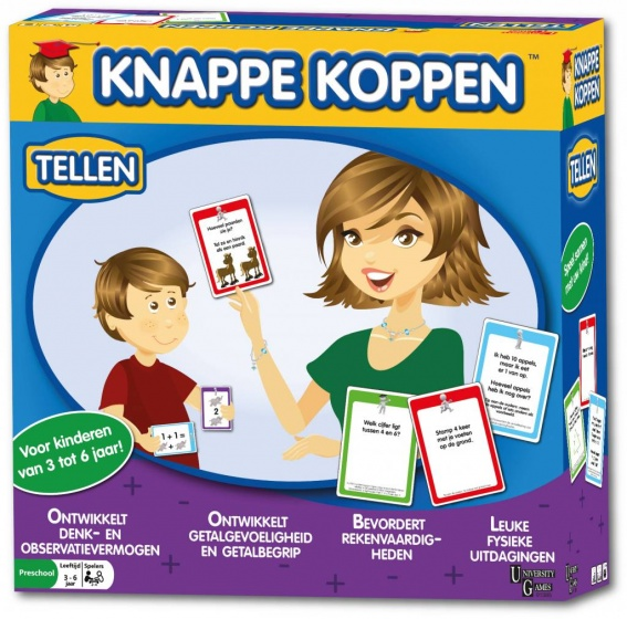 University Games Knappe Koppen: tellen