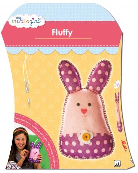 University Games Knutselset My Studiogirl: Fluffy