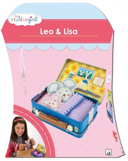 University Games Knutselset My Studiogirl: Leo & Lisa