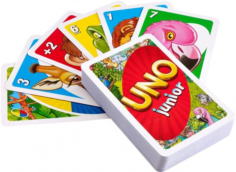 Mattel UNO junior kaartspel