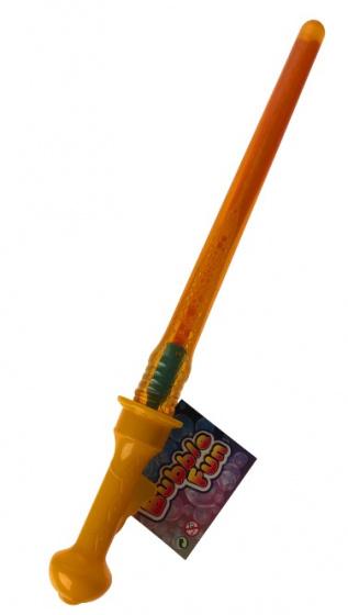 Toys Amsterdam bellenblaasstick Bubble Fun junior 45 cm oranje