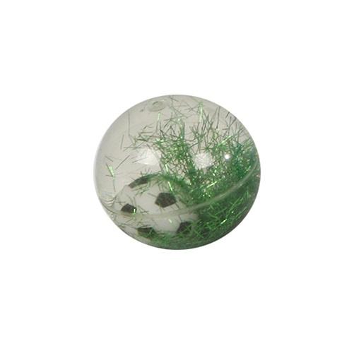 TOM stuiterbal voetbal jongens 5,5 cm groen