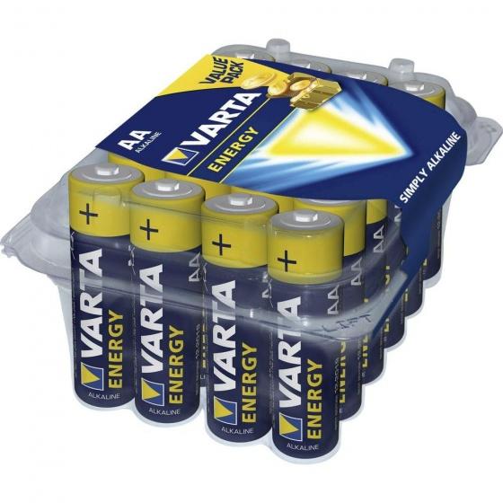 Varta Energy LR06 AA batterij (penlite) Alkali-mangaan 1.5 V 24 stuks
