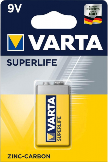 Varta Batterij Superlife Standaard 9volt Stuk