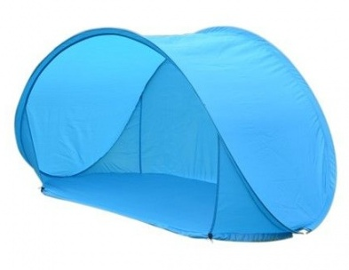 VDM Beachshelter Pop Up strandtent blauw 148 x 85 x 85 cm