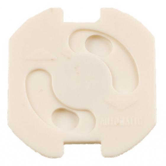 Verlofix stopcontactbeveiliging zelfklevend wit 5 stuks