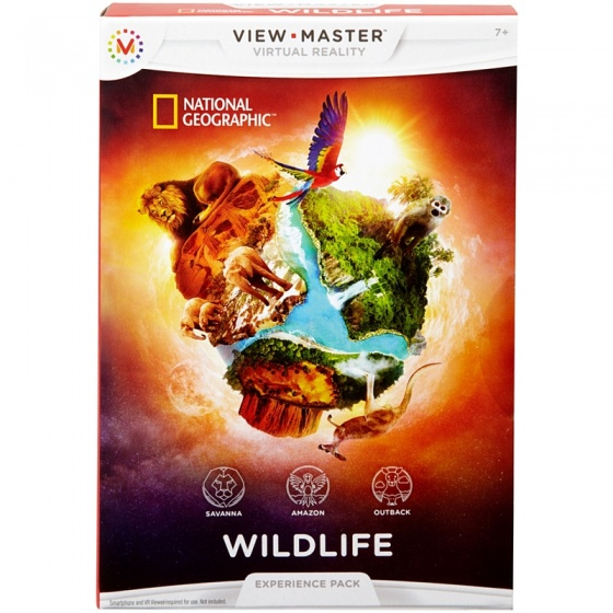 View Master Experience pack: National Geographic dierenleven