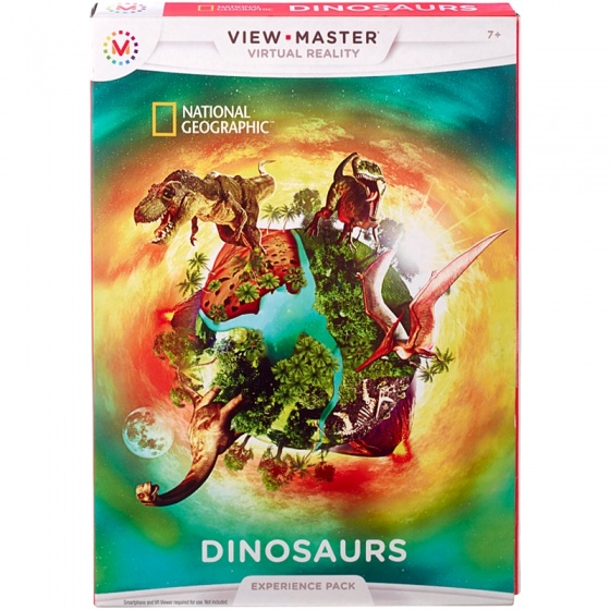 View Master Experience pack: National Geographic dinosaurussen