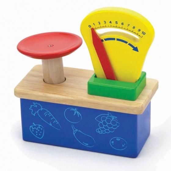 Viga Toys Houten Weegschaal
