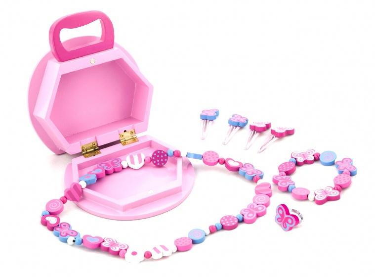 Juwelendoosje New Classic Toys: Vlinder 14x6x15 Cm