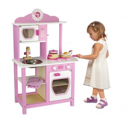 Viga Toys Kinderkeuken Prinses Hout