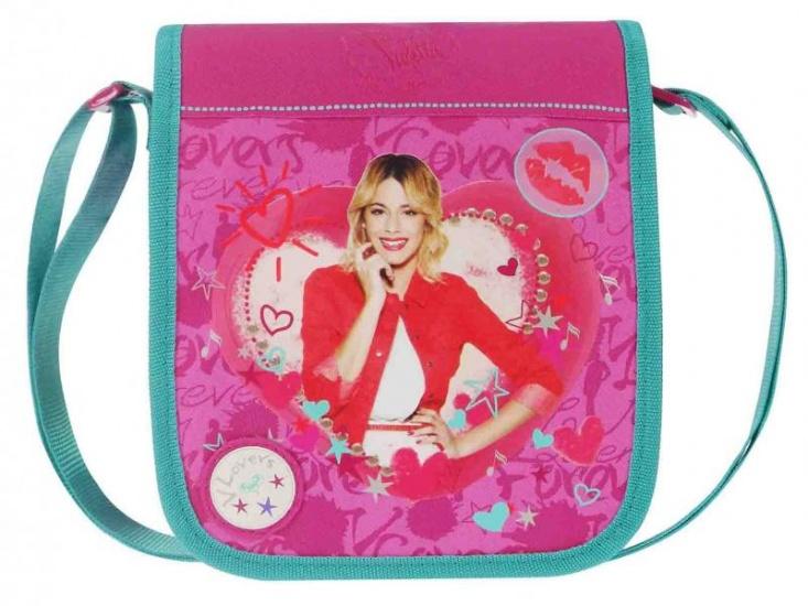 Disney Violetta schoudertas Lovers Forever paars 2,3 liter