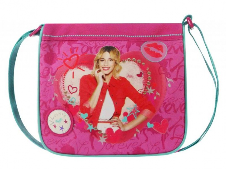 Disney Violetta schoudertas Lovers Forever paars 2,9 liter
