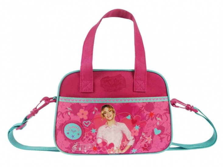 Disney Violetta schoudertas Lovers Forever paars 4 liter
