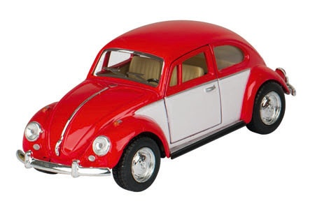 Goki Volkswagen Classic Beetle (1967) Rood 13.5 cm