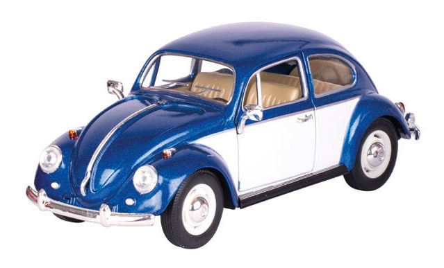 Goki Volkswagen Kever (1967) Blauw 17 cm
