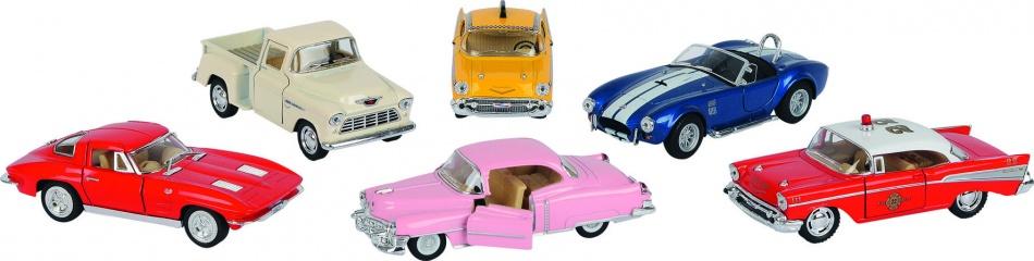 Goki Oldtimer Collectie Volkswagen Rood Zwaailicht 12.5 13 cm