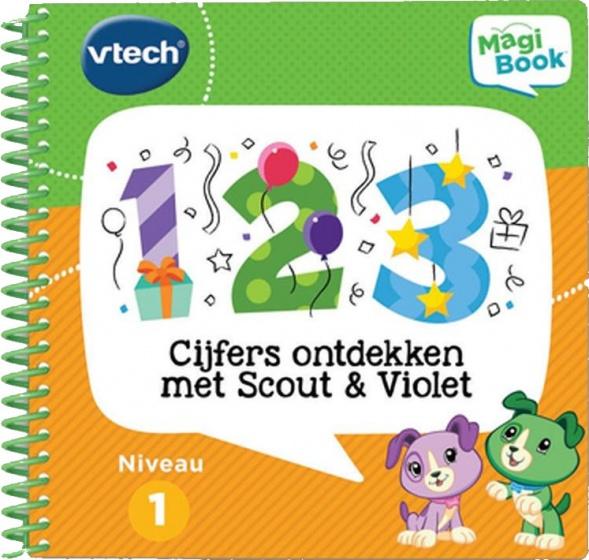 VTech activiteitenboek Cijfers ontdekken met Scout & Violet