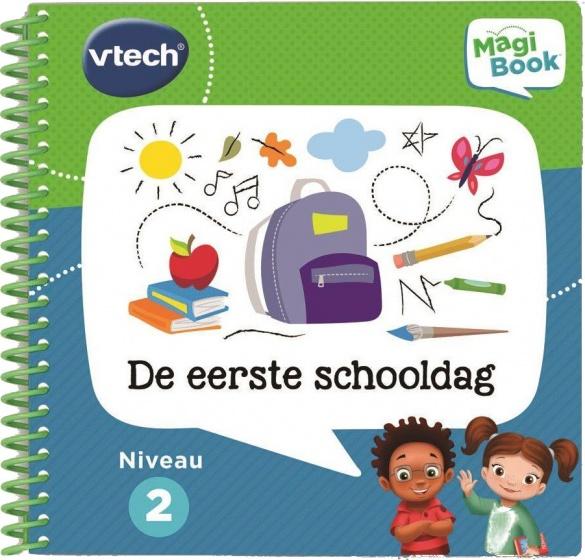 VTech activiteitenboek MagiBook De eerste schooldag voor €2,55