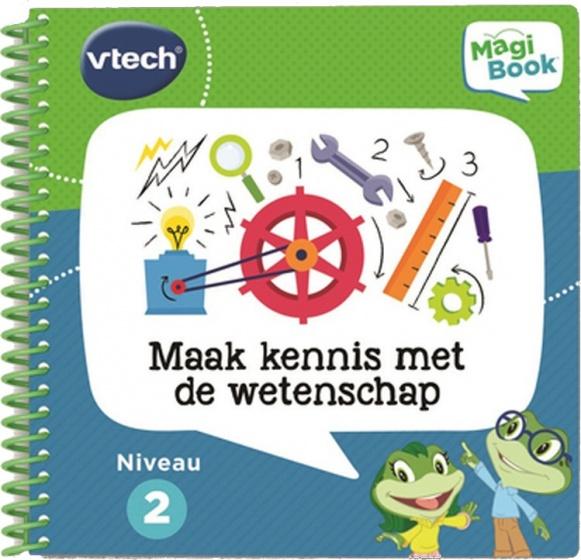 VTech activiteitenboek MagiBook Maak kennis met de wetenschap
