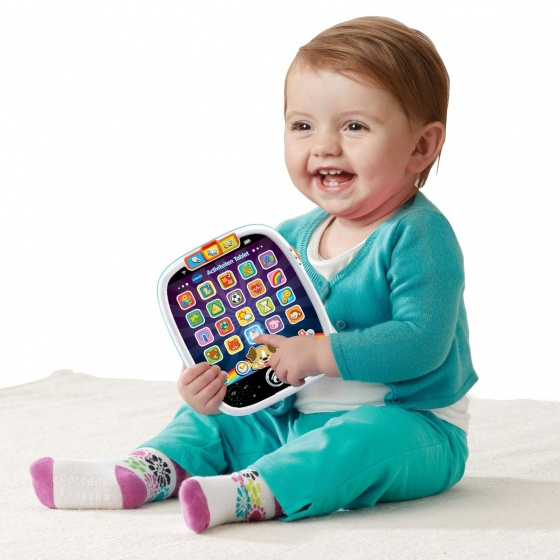 activity tablet Baby 20 x 17 cm blue