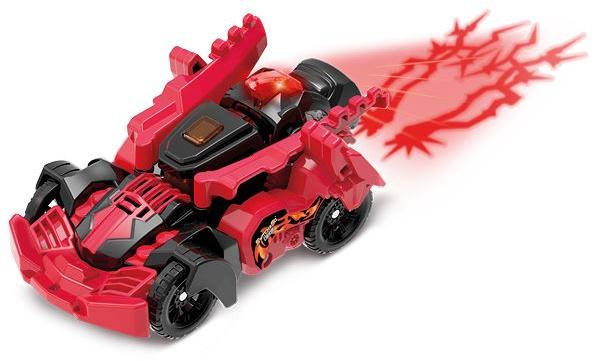 VTech auto Fire Blaze de T Rex junior 16,3 x 11,6 cm rood/zwart