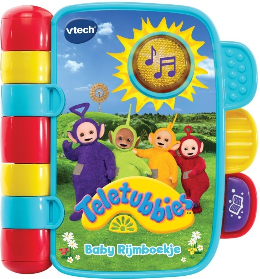 VTech babyboekje Teletubbies junior 17 x 15 cm