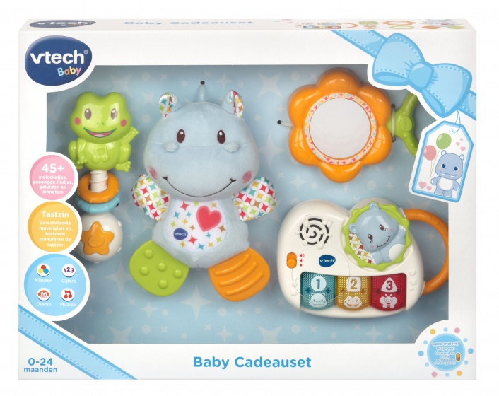 VTech Baby Cadeauset blauw 4 delig
