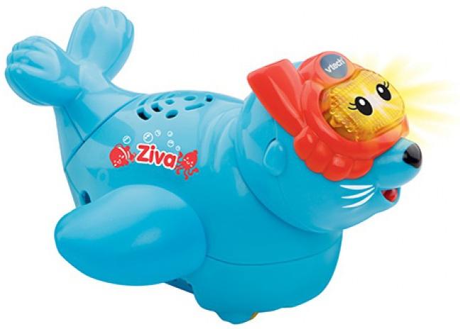 VTech badfiguur Ziva zeeleeuw junior blauw 14 x 12 x 10 cm
