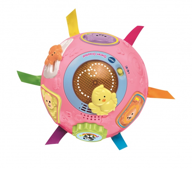 VTech 80-151552 Baby Dieren Draaibal Roze