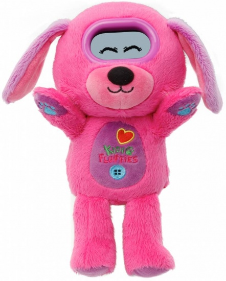 VTech KidiFluffiie hond meisjes 28 x 25 x 14 cm roze