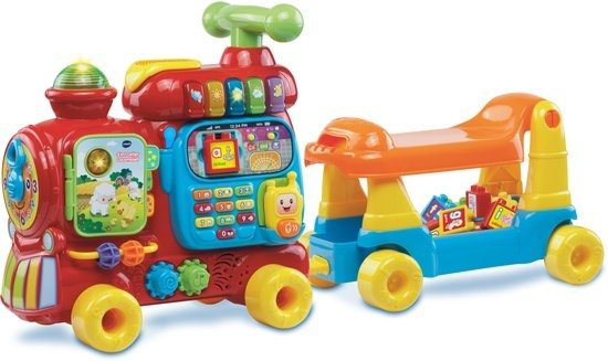 VTech Letter Locomotief 5 in 1