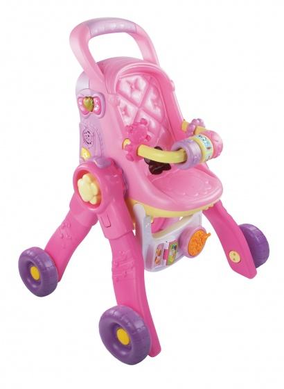 VTech Little Love Groei Met Me 3-In-1 poppenwagen