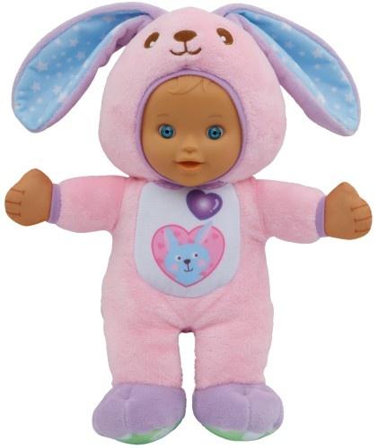 VTech Little Love knuffelpop konijn 29 cm roze
