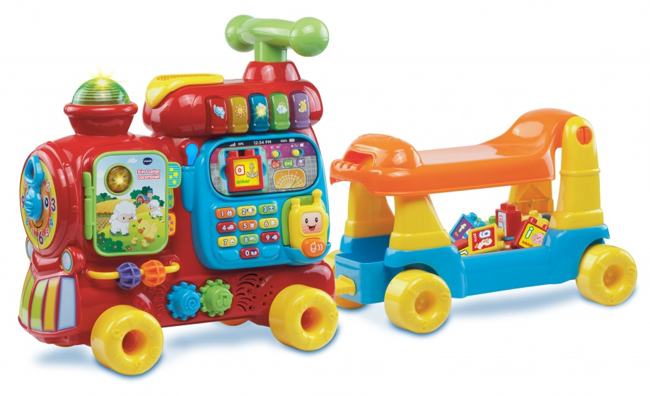 Vtech 5 in 1 Letterlocomotief