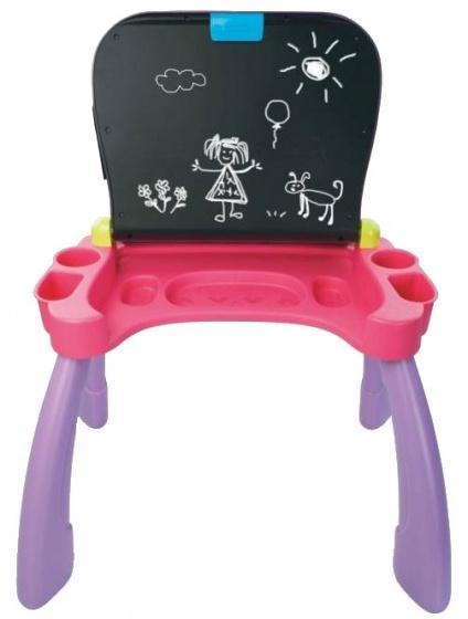 Vtech mijn magisch bureau 3 in 1 paars roze internet toys for Baby bureau bilingue 2 en 1