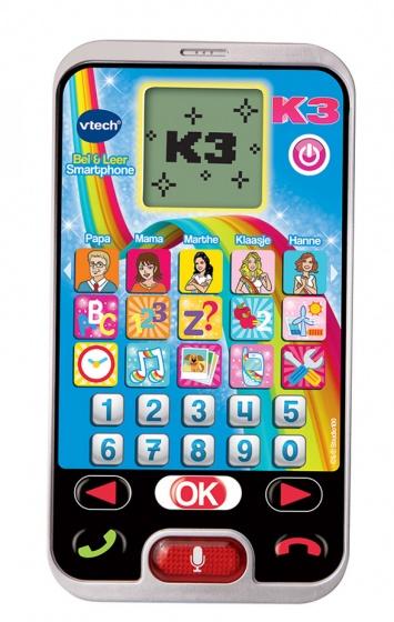 VTech educatieve smartphone K3 Bel & Leer 15 cm