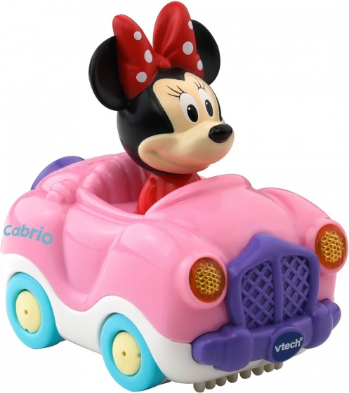 VTech Toet Toet auto: Minnie Mouse in cabrio roze