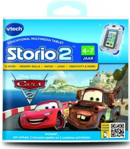 VTech Storio Boek 2: Cars 2 (4 7 Jaar)