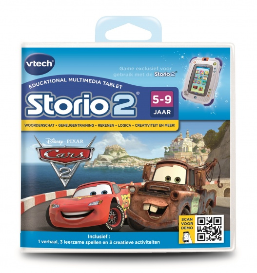 Vtech Storio 2 Game Cars 2