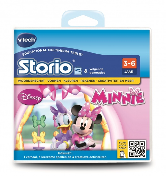 Vtech Storio 2 Game Minnie Mouse