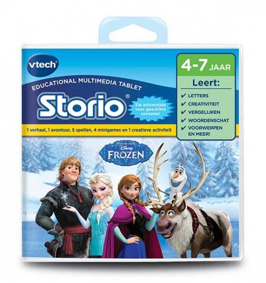 Storio boek: Frozen Vtech: 5-8 jr