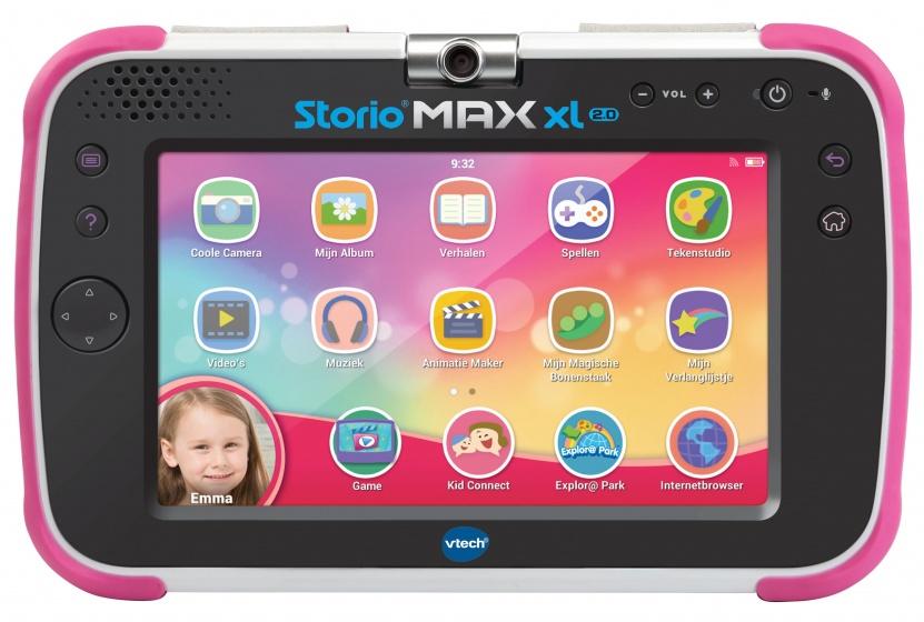 VTech tablet Storio Maxx XL 2.0 met wifi 38 cm roze