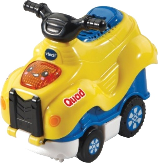 VTech Toet Toet Auto's Press & Go Quinn Quad