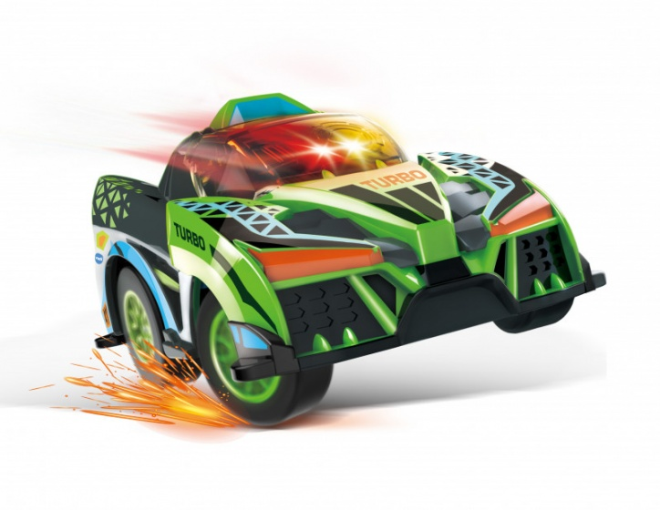 Turbo Force Racers - Green Racer vehicle green