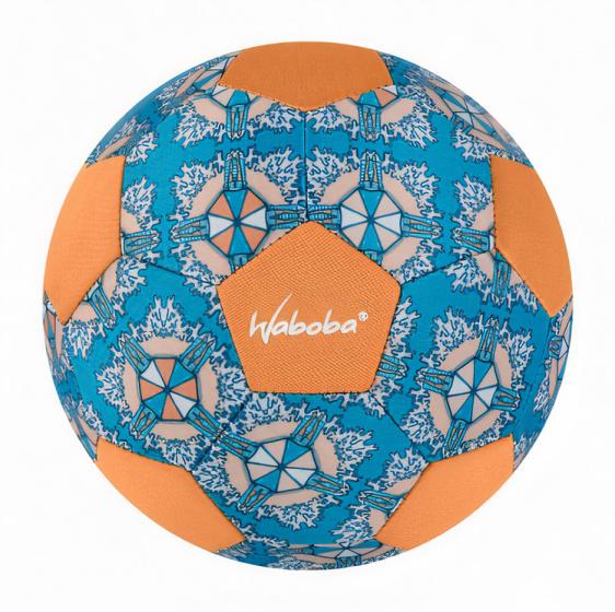 Waboba strandvoetbal Mini 20 cm rubber/lycra/spandex oranje