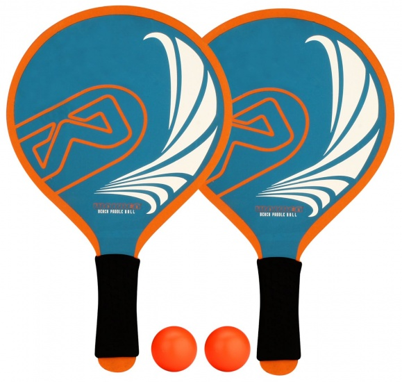 Waimea Beachball Set Foam Grip Blauw/Oranje
