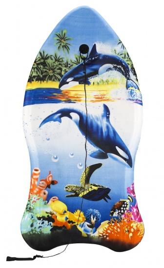 Waimea Bodyboard Ergo Shape blauw