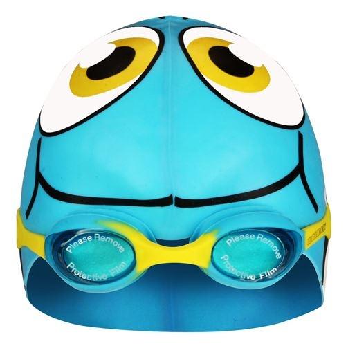 Waimea Zwembril met Muts Vis Junior Lichtblauw
